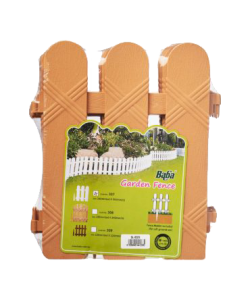 BABA Plastic Fencing 307 (4pcs) Garden Decoration