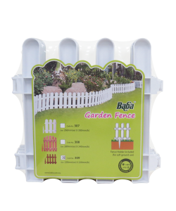 BABA Plastic Fencing 309 (4pcs) Garden Decoration