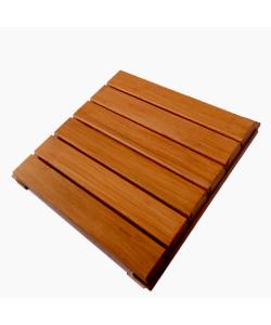 Chengal Floor Decking Tiles 45 x 45cm