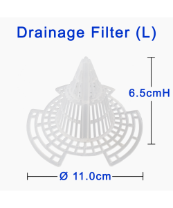 Drainage Filter for Flower Pot Cone Shape