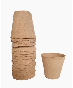 Biodegradable Germination Round Paper Pulp Pots (20pcs)