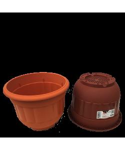 BABA BI-2017 Round Pot ( 230mmØ x 166mmH)