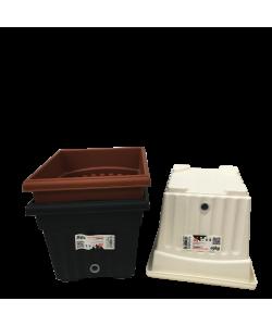 BABA BI-SQ-200 Self Watering Flower Pot