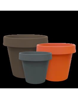 BABA MJ-400 Modern Plastic Pot