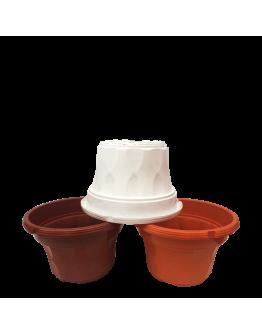 BABA SC 220 Plastic Pot  (218mmØ x 140mmH)