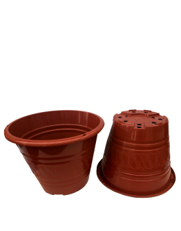 BABA TN-3471-A Flower Design Pot (308mmØ x 231mmH)