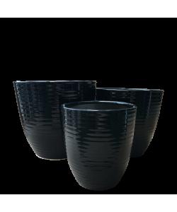 Ceramic 8041 Black Line Pot