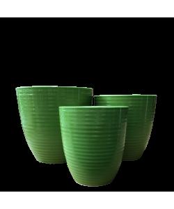 Ceramic 8042 Green Line Pot