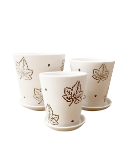 Ceramic 8069 White - Maple Leaf