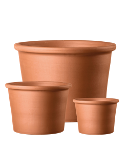 Cilindro Bordato – Terracotta Cylinder Pot