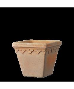 Royal Terracotta Square Pot (Ø18.0 X H16.0cm)
