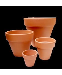 Terracotta Pot By Deroma
