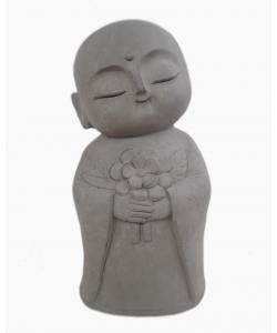 Buddha Statue - Serenity Buddha Holding Flower
