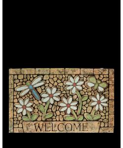 Door Mat DM-6001(1) Flower Design