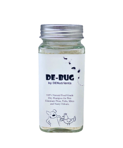 DENutrients Pet Dry Shampoo for Chickens & Dogs (100% Food Grade)