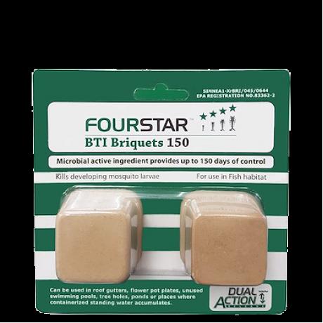 Fourstar Mosquito Larvicide BTI Briquets 150