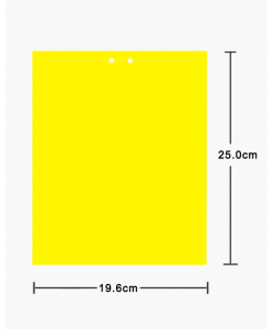 Double-sided Yellow Sticky Insect Trap