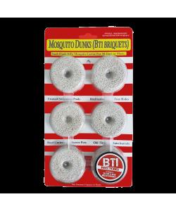 Mosquito dunk (BTI Briquets)
