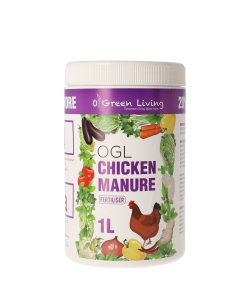 Chicken Manure Fertilizer By O' Green Living 1L
