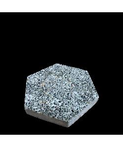 Hexagon Paving Concrete Slab Small Pebbles