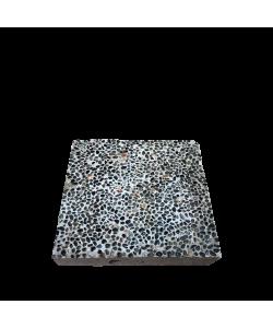 Square Paving Concrete Slab Small Pebbles