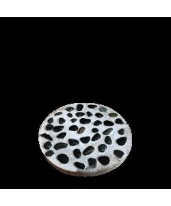 "Round Paving Concrete Slab 11"" Big Pebbles"