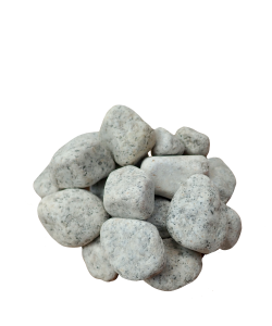 20KG White Granite Pebbles