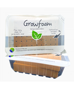 GrowFoam Seed Germination Solution - Refill Set (108 Individual Foam Cubes)