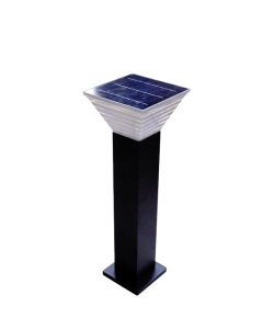 Solar Garden Light Black 6W