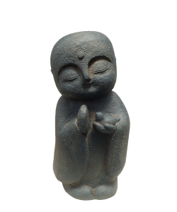 Abundance Buddha Statue with bird