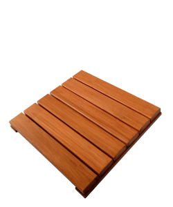 Chengal Floor Decking Tiles 45 x 45cm