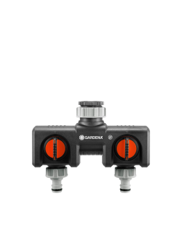 Twin Tap Connector by Gardena