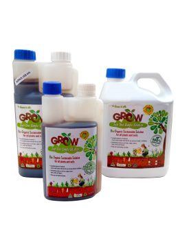 Bio-Organic Liquid Fertilizer - Twin Cap Bottle