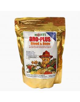 Gro-Plus Blood & Bone Meal Plant Food by HORTI (11:11:11) 500gm