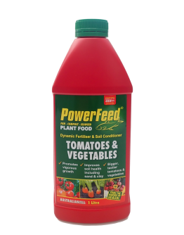 100% Organic Fish Fertilizer for Edibles, Tomatoes and Vegetables (14 : 1.4 : 8) PowerFeed  1L