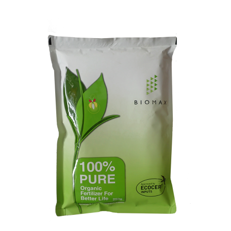 100% Pure Organic Fertilizer (250g) by Biomax