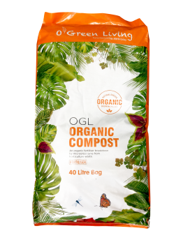 Organic Compost 40L by O' Green Living
