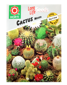 Cactus Mixed Seeds by HORTI