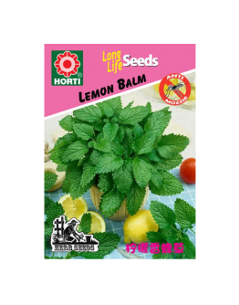 Lemon Balm 柠檬香脂草 Seeds By HORTI